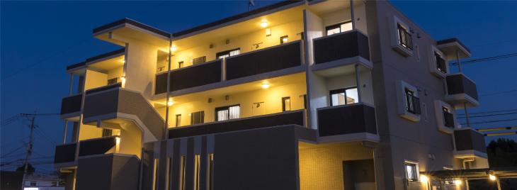 選ばれるカタチ 賃貸マンション CASTLE SERIES 住みたくなる、生活の拠点