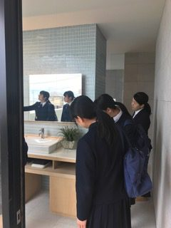 熊本工業高校生徒さん会社訪問