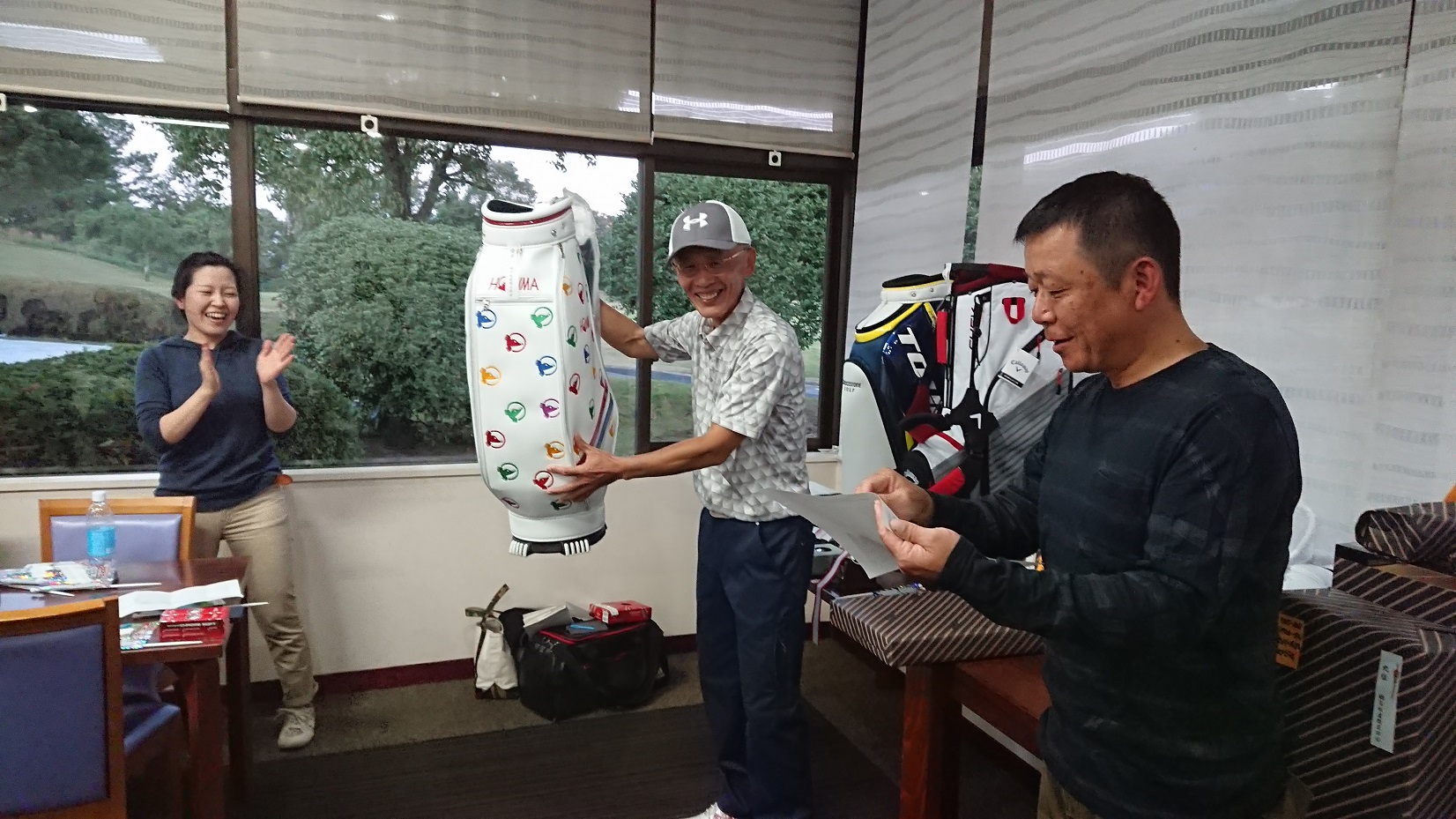 冨坂建設 ゴルフコンペ2018